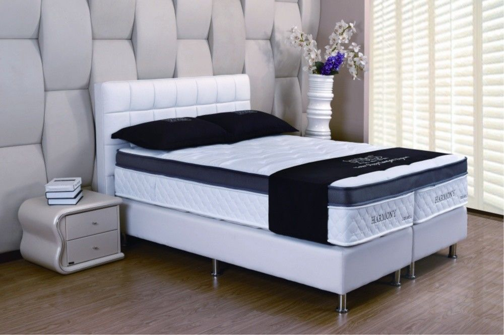 Queen Memory Foam Mattress Two Separated Mattress Base No Harm For Humans Health